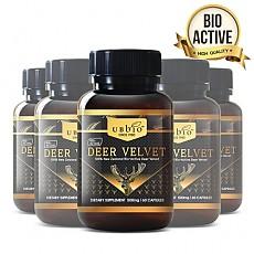 [유비바이오] 바이오액티브 녹용(발효녹용) 500mg 60캡슐 6개