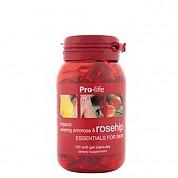 [프로라이프] 유기농 달맞이꽃종자유 함유 로즈힙200캡슐 1개