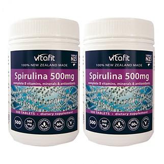 [비타핏] 유기농 스피루리나 500mg 500tablets 2개
