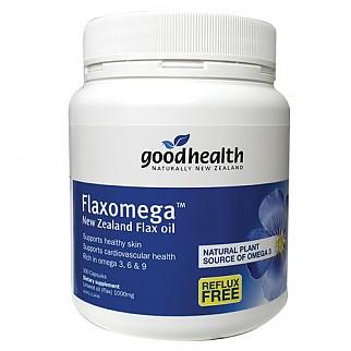 [굿헬스] 플랙스 오메가(아마씨유) 300캡슐 1개 (식물성오메가3)