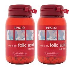 [프로라이프]엽산 Folic acid 60tab 2개