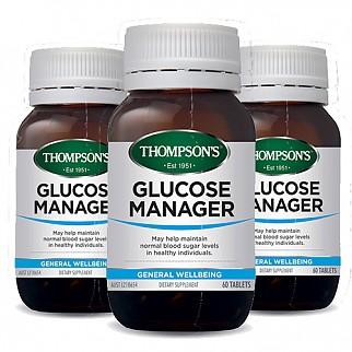 [톰슨] 글루코매니저 (혈당 조절) 60캡슐 3개