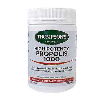 [톰슨] 프로폴리스 1000mg 300캡슐 1개