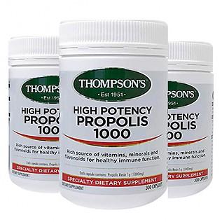 [톰슨] 프로폴리스 1000mg 300캡슐 3개