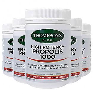 [톰슨] 프로폴리스 1000mg 300캡슐 6개