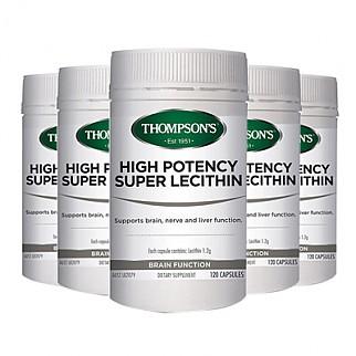 [톰슨] 슈퍼 레시틴 1200mg 200캡슐 6개