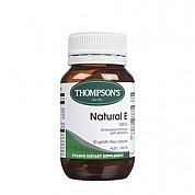 [톰슨] 비타민 네츄럴 E 500IU 50캡슐 1개