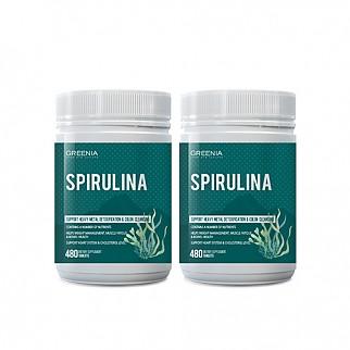 [그리니아] 하와이안 스피루리나 / 천연 비타민 480정 2개