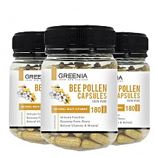 [그리니아] 비폴렌(화분) 캡슐 / 천연 비타민 180캡슐 3개