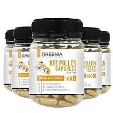 [그리니아] 비폴렌(화분) 캡슐 / 천연 비타민 180캡슐 6개
