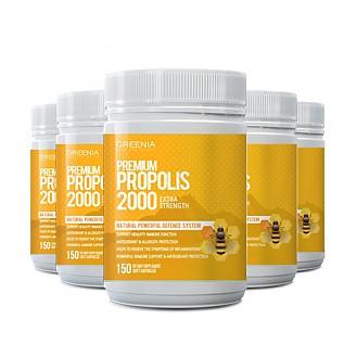 [그리니아] 프리미엄 프로폴리스 2000 150캡슐 6개