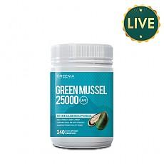 [그리니아] 그린머슬25000 240캡슐 (100% 뉴질랜드 라이브 초록입홍합) 1개