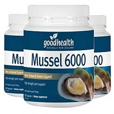 [굿헬스] 그린머슬6000mg 300캡슐 (무릎관절) 3개