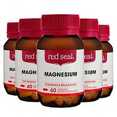 [레드실] 마그네슘 60 CAP 6개