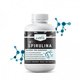 [유비바이오] 스피루리나 (피부건강/항산화/면역력증진) 500tab  1개