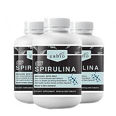 [유비바이오] 스피루리나 500tab  3개