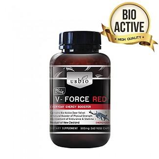 업그레이드 기념 특가// [유비바이오]V-Force 브이포스 레드(녹용,녹혈) 500mg 360tab 1개