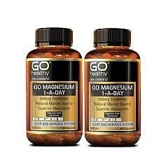 [고헬시] 마그네슘 (ONE-A-DAY) 500mg 60캡슐 2개