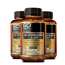 [고헬시] 마그네슘 (ONE-A-DAY) 500mg 60캡슐 3개