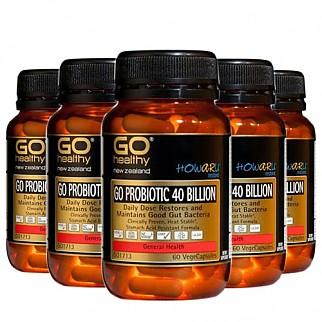 [고헬시] 프로바이오틱 400억 60 베지캡슐 6개(유산균)